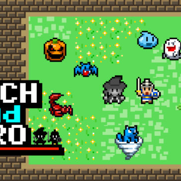 Witch & Hero Arrives on Nintendo Switch on 21st March!